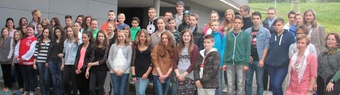 Schüler aus Ungarn zu Gast