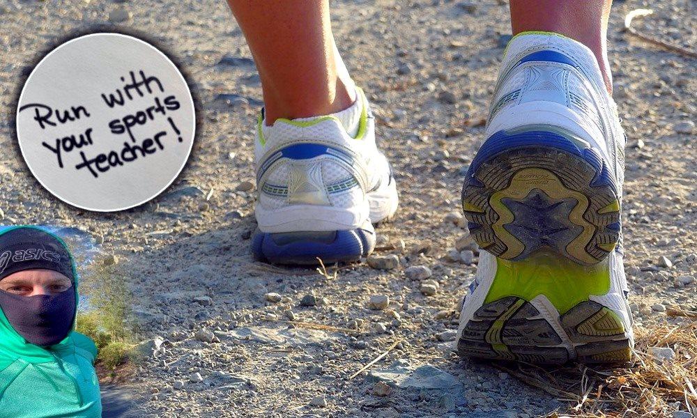 Sport im Distanzunterricht – 'Run with your sports teacher!'