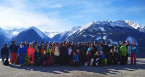 Schulskikurs der Jahrgangsstufe 7 in Österreich gestartet